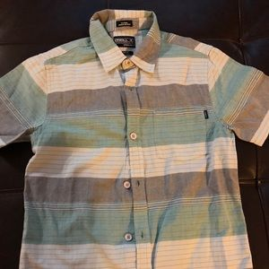 NWT Boys O'Neil Button Up Shirt - size Med